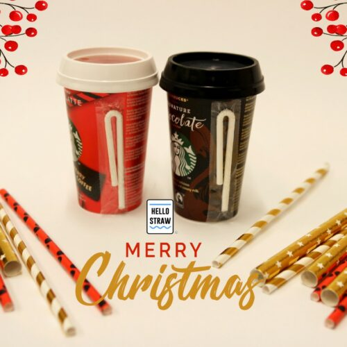 Best holiday wishes from Hello Straw!